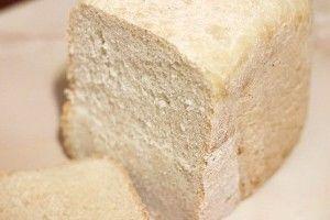 Білий хліб в хлібопічці: рецепт з фото