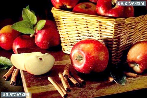 Яблука з корицею для схуднення