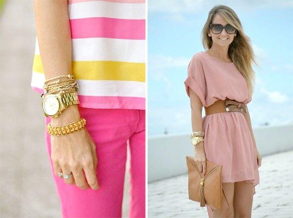 як і счем носити одяг рожевого кольору