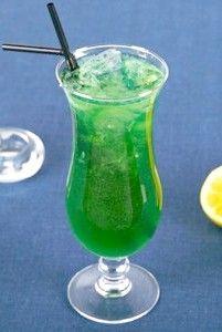 Коктейль зелена фея - рецепт