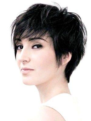яскраві стрижки на тонке волосся фото