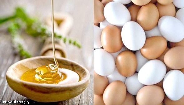 Маска для волосся з яйцем і медом
