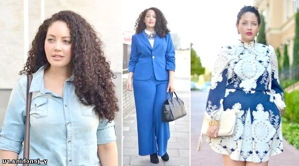 Мода для повних жінок: фото добірка з 11 фотографій