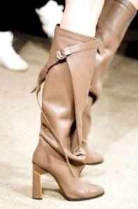 Модні жіночі чоботи осінь-зима 2014-2015