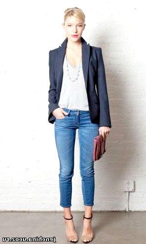 з чим носити джинси