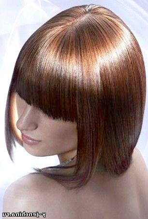 стрижка фото на середні волосся