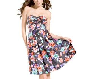 Весна-2011: сукні з квітковим принтом