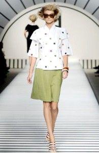 Жіночий одяг fendi - колекція весна-літо 2012